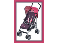 Baby Weavers Jet Stroller Buggy Pushchair