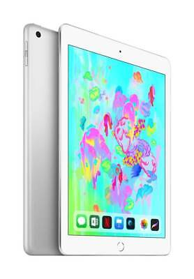 Apple - iPad (Latest Model) with Wi-Fi - 128GB - Silver