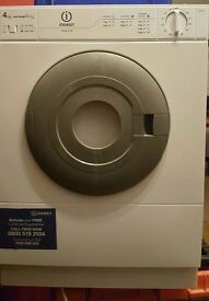 Small Indesit Tumble dryer vented 4kg