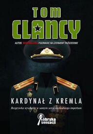 Polish detective novel - Kardynał z Kremla by Tom Clancy