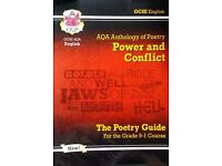AQA Anthology of Poetry - Power and Conflict for GCSE English 1-9