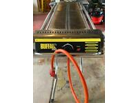 Buffalo Folding Propane Gas Barbecue on Wheels with 2 x 13kg Calor propane bottles