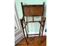 Antique Bamboo Umbrella Stand.