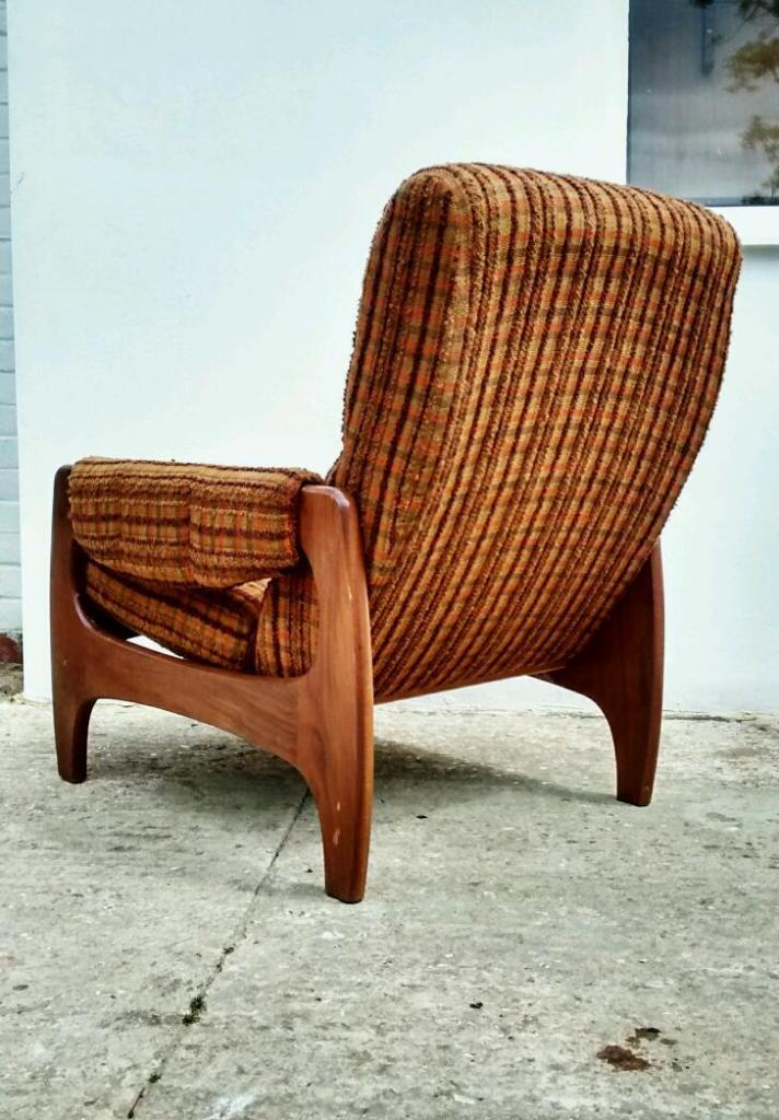 Vintage Retro Easy Chair Danish G Plan Ercol Style Delivery Available In Worthing West