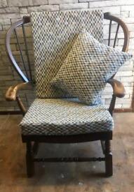 Original vintage Ercol wooden chair