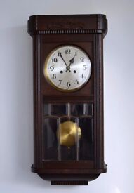 Antique German PHS Wall Clock