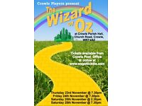 The Wizard of Oz pantomime tickets