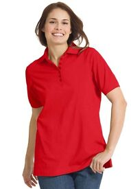 Ladies Stedman Red Polo shirt Size small