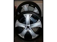 22inch range rover sport alloys with tyres