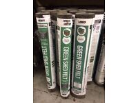 Shed Felt Roofing Green Mineral IKO & Rose Roofing Roof Shed Kennel WE CUT TO SIZE! 1 m £1.80