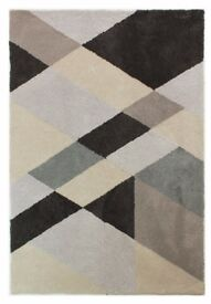 Dapple Slant Rug - Grey Mix - Super Soft 160cm x 230cm
