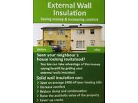 External wall insulation system