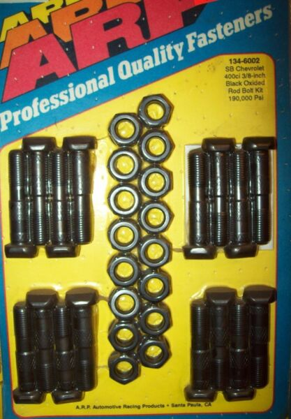 400 SMALL BLOCK CHEVY , NEW ARP ROD BOLTS #134-6002 NEVER ...