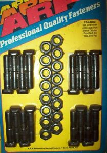 400 SMALL BLOCK CHEVY , NEW ARP ROD BOLTS #134-6002 NEVER OPENED