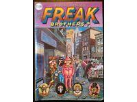 Freak Brothers: 'Number 4' Comic (British Reprint)