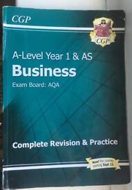 A-level year 1 AS Business AQA revision guide
