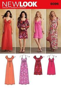 Maxi Dress Sewing Pattern | eBay