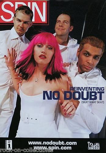 No Doubt 2000 Spin Magazine Cover Original Promo Poster