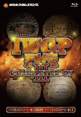 NJPW BLURAY IWGP COMPLETE BOX 3 (1991-1995) NEW JAPAN PRO WRESTLING DVD WWE AEW