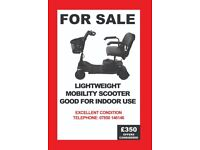 Portable Mobility Scooter - Good for indoor use