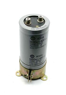 Fanuc Hcg6a Capacitor 1000 Mfd 400 Vdc A42l-0001-0095102