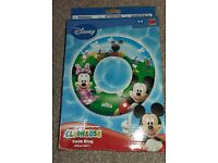 Mickey & Minnie Mouse Swimring