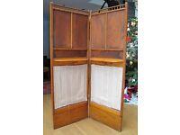 Edwardian wooden screen