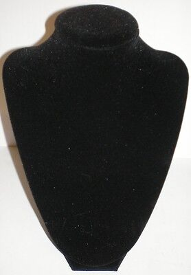 Darice Black Velvet Necklace Jewelry 3d 9 Stand Display