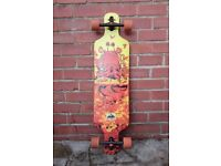 Skateboard Longboard D Street Drop Through Underwater Beached 39""