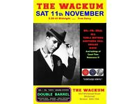 SATURDAY 11th NOVEMBER - 60s 70s SOUL / REGGAE / MOTOWN with DOUBLE BARREL – WHITEHALL