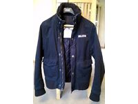Mens Hollister Jacket / Winter Coat - Dark Navy - Size Small [S] - Very Good Condition