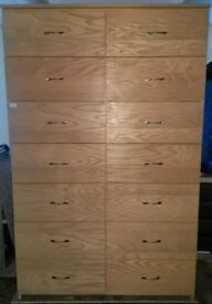 14 Drawer Quality Office filing cabinet, drawers, Storage, Document holder WD3