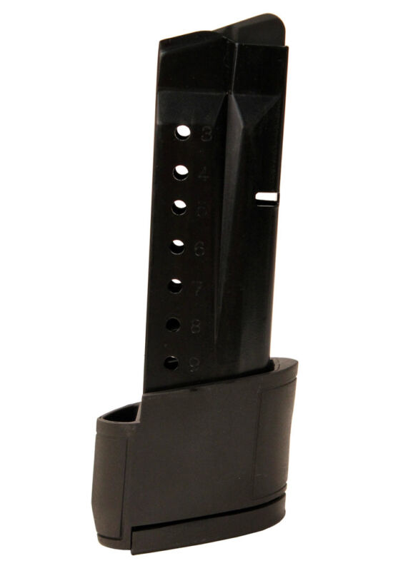 Promag Smith & Wesson M&p Shield Magazine 10 Round Grip Extension 9mm Mag-smi 28