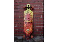 Longboard Skateboard D Street Drop Through