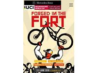 X2 weekend tickets uci World Cup fort William with gondola pass