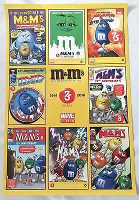 Marvel Custom M&M's 75TH ANNIVERSARY 24
