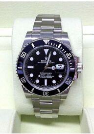 Rolex Submariner Date 116610LN: Ceramic Bezel Automatic Chronometer Watch