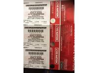 Three Guns N Roses tickets- London sat 17th June