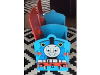 Thomas&Friends Wooden Storage/Toy Unit 2 separate compartments with 2 doors, good clean condition