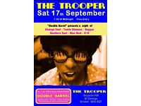 SATURDAY 17th SEPTEMBER - 60s 70s SOUL / REGGAE / MOTOWN / SKA with DOUBLE BARREL - ST GEORGE