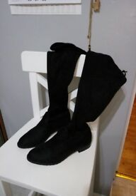 Over the knee boots size 5