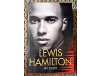 Hardcover Book - Lewis Hamilton 'My Story' - Excellent cond./Unread (Unwanted Gift)