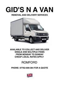 GID'S N A VAN REMOVAL N DELIVERY SERVICES