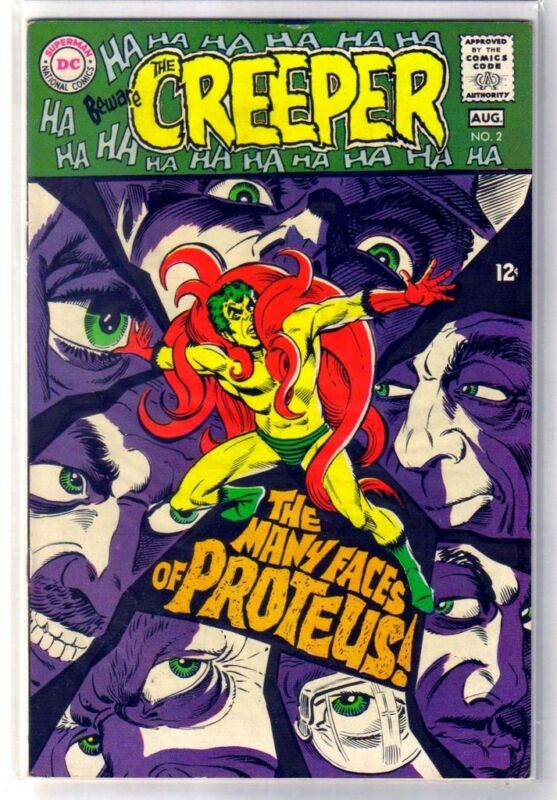 BEWARE the CREEPER #2 The Many Faces of Protues! DC Comic Book ~ VF
