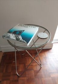 Antique Silver Side Table