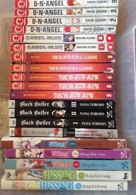 Manga volumes - collection of 109 (in English)