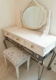 BARGAIN SOLID PINE DRESSING TABLE 3 PIECE SET