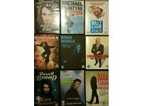 Stand up comedy live DVD's. Ross Noble, Dara O Briain, Michael McIntyre, Billy Conolly