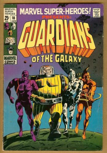 Marvel Super-Heroes #18 VG+ 1st Guardians of the Galaxy