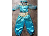 Princess Jasmine Costume Fancy Dress - Age 5-6
